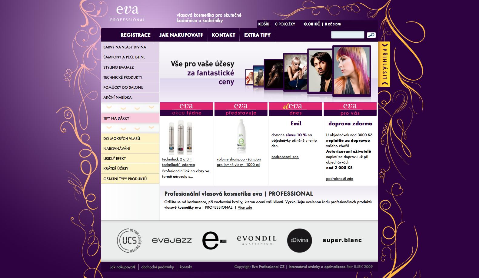vlasová kosmetika eva | PROFESSIONAL