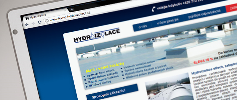 Levné hydroizolace - frontpage