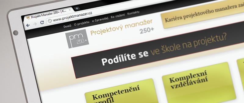Projektový manažer frontpage