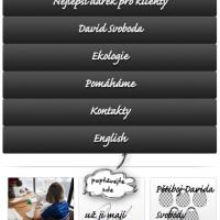 mobilní verze stránek