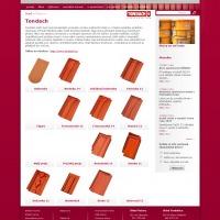 Ukázka stránky výrobce