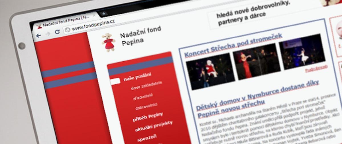 Nadační fond Pepina - frontpage