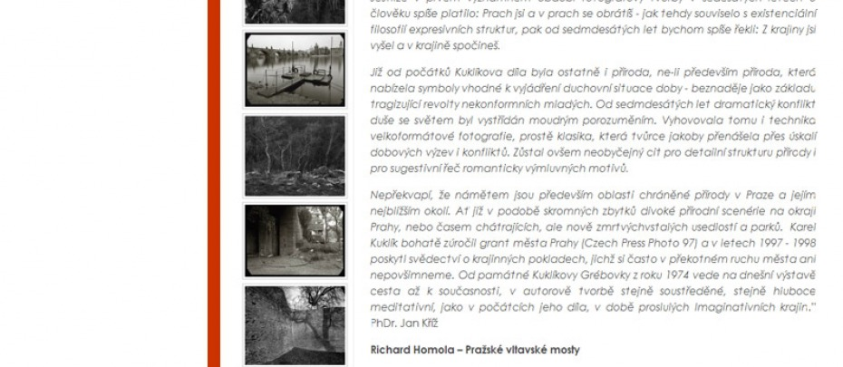 Galerie 4 - profil výstavy